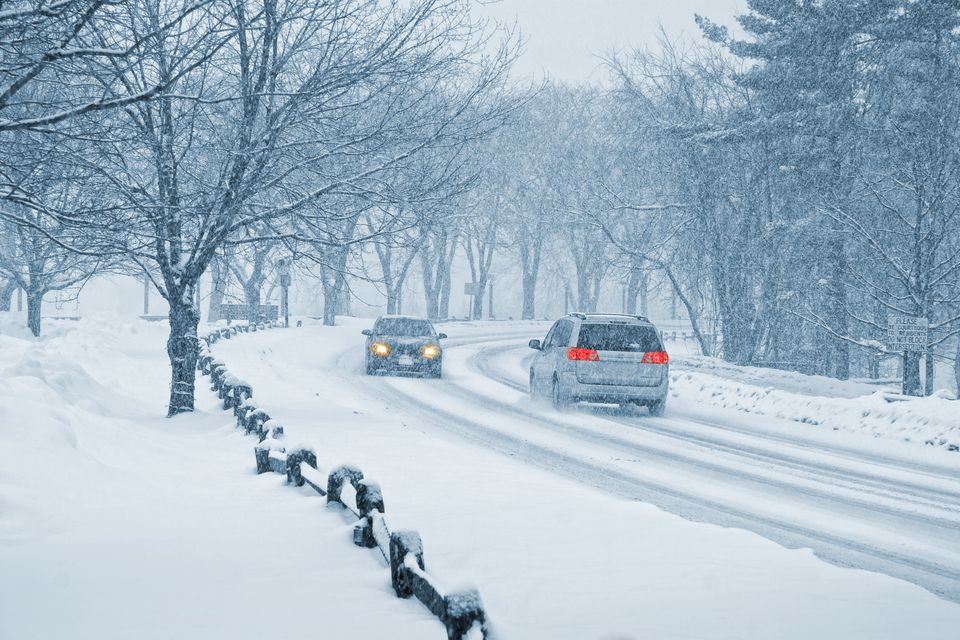 Winter Snow Driving