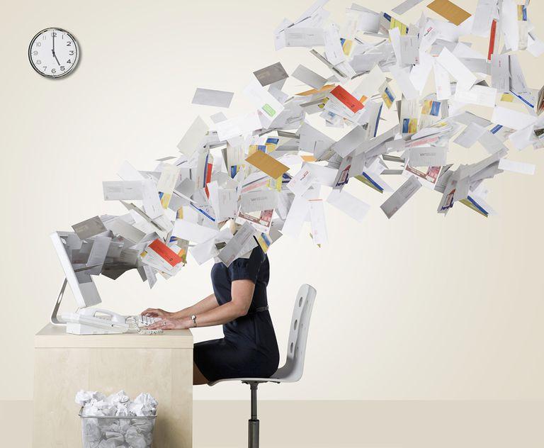 Managing iPhone email