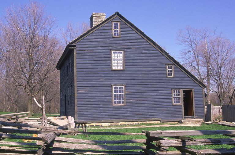 1754 Colonial Saltbox Style