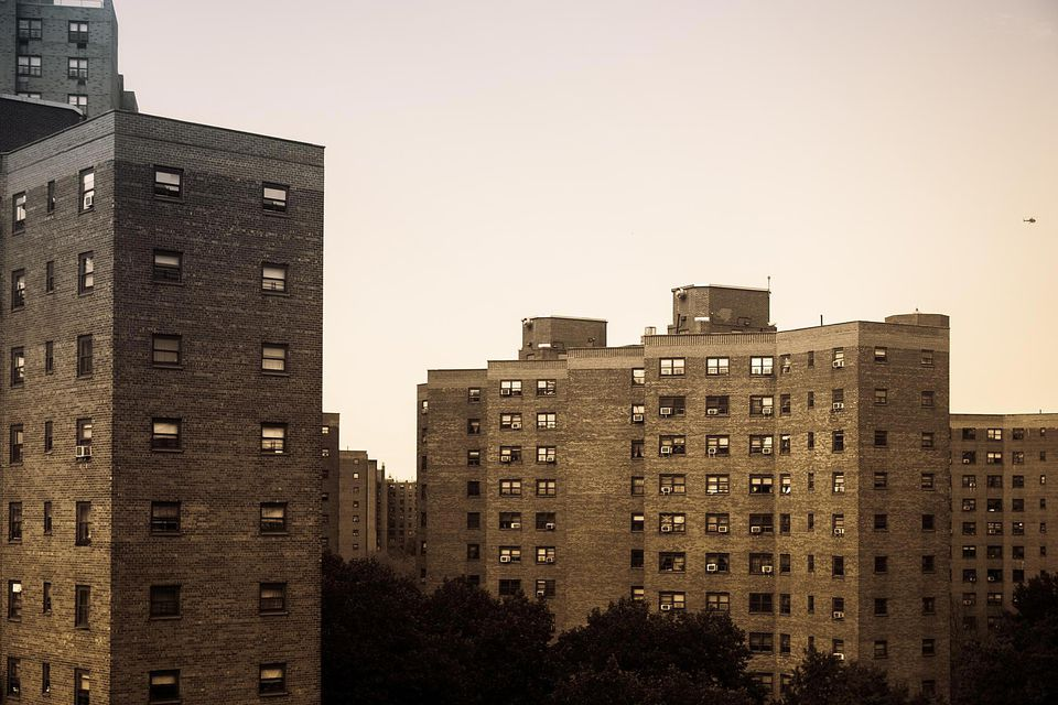 Manhattan Apartment Blocks