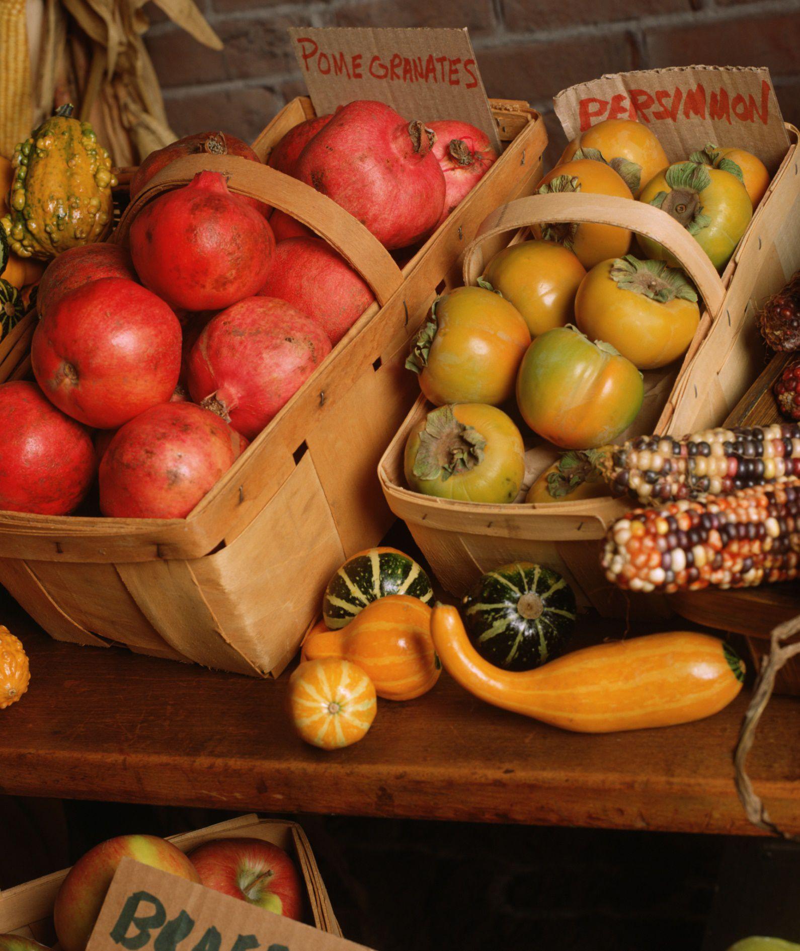 Eat the season fresh fruit and vegetable picks for november