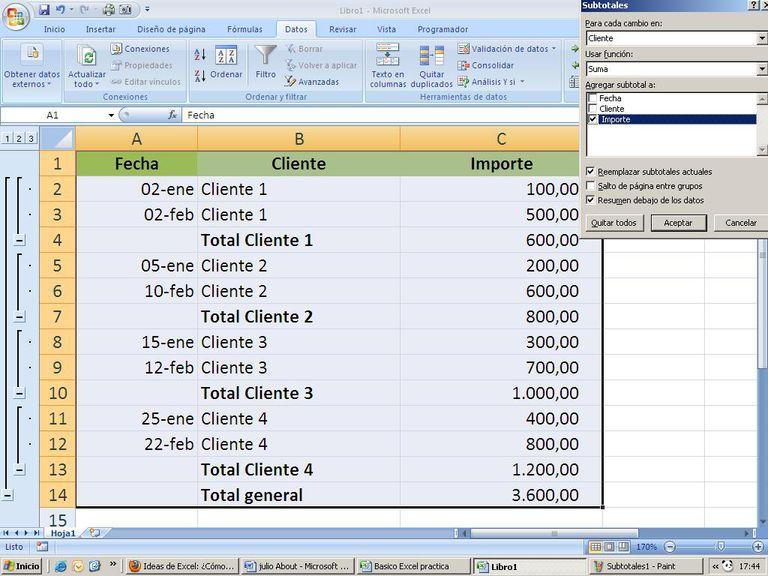 Excel en la empresa: Uso experto de la hoja de cálculo