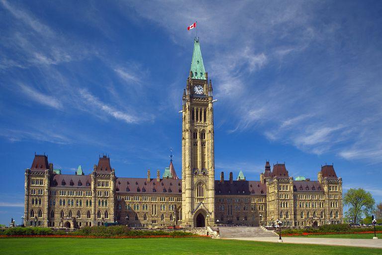 Canadian parliament buldings