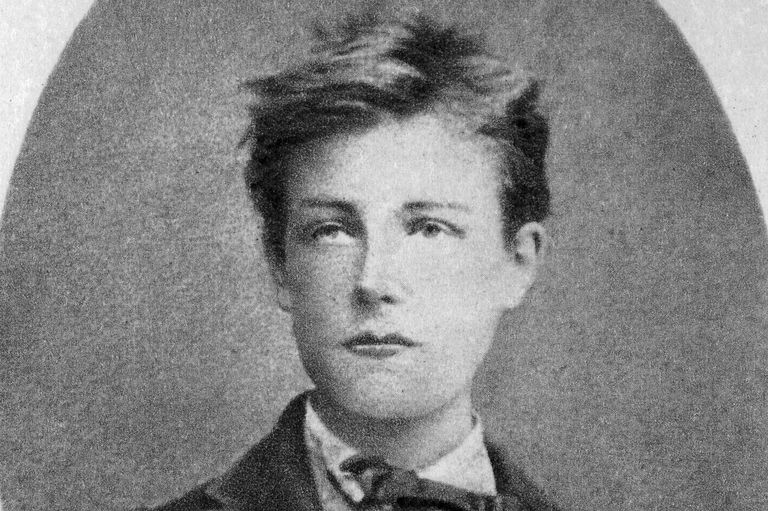 Arthur Rimbaud, French poet and adventurer, 1870.