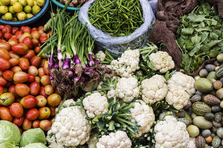 fresh fruits and vegetables for colon cancer prevention