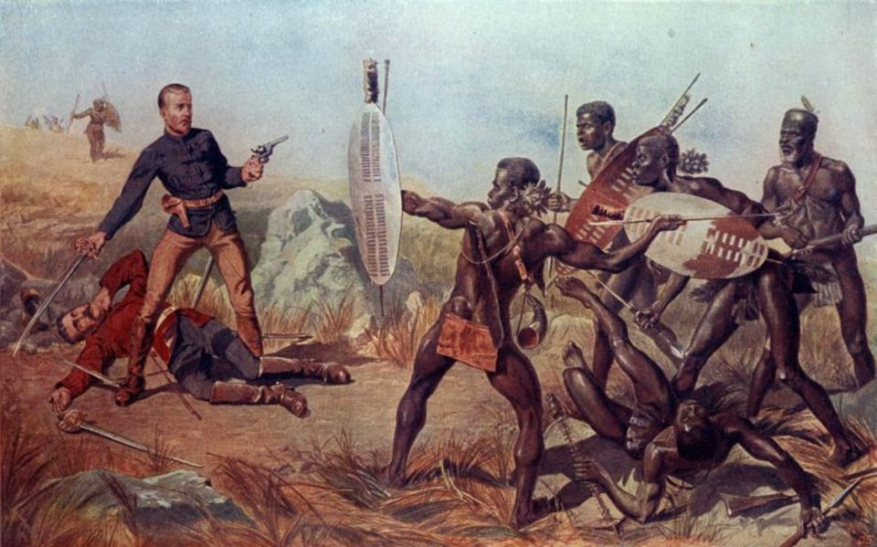 South African History The Battle of Blood River Zulua
