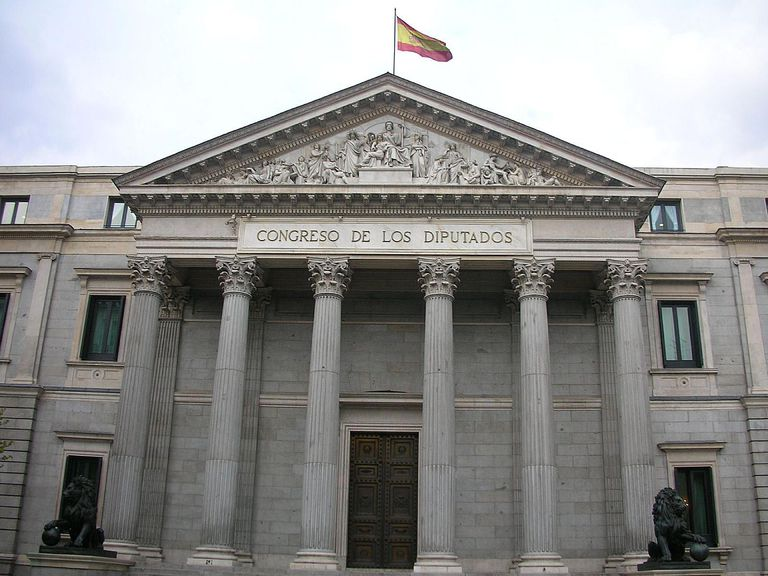 House of the Parliament in Spain