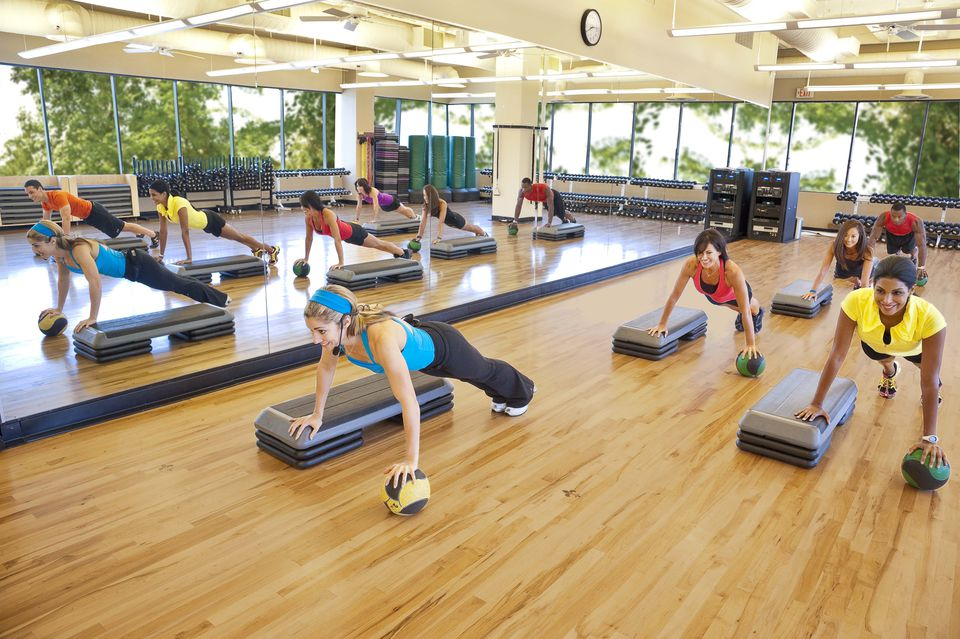 Fitness Class at the Houstonian