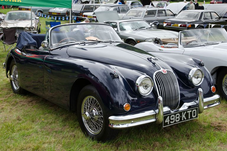 Jaguar XK150 British Sports Car