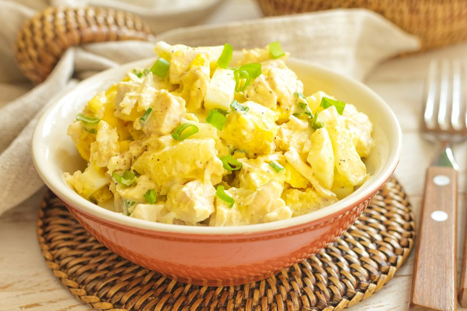 chicken and pineapple salad