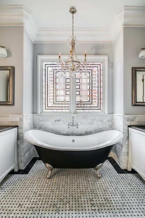 pictures of gray and white bathrooms. Gray and White Elegant Vintage Bathroom 17 Classic Bathrooms