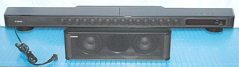 Yamaha YSP-2200 Digital Sound Projector System - Photo of Front View