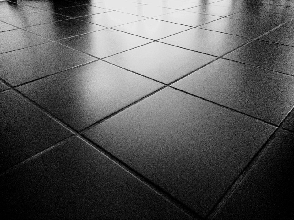 Detail Shot Of Tiled Floor