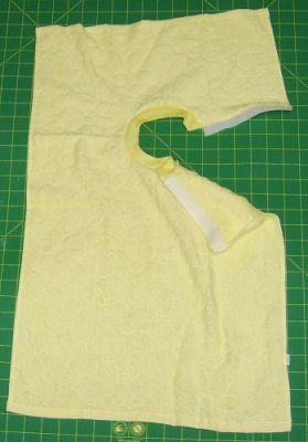 Free Baby Bib Sewing Pattern - Change a towel to a perfect baby bib