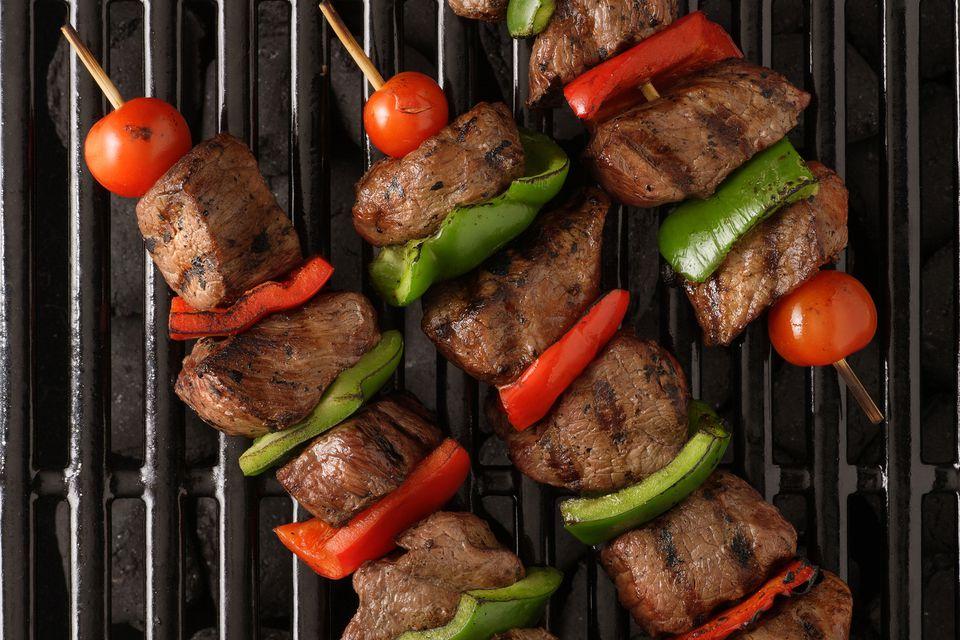 Beef shish kebba