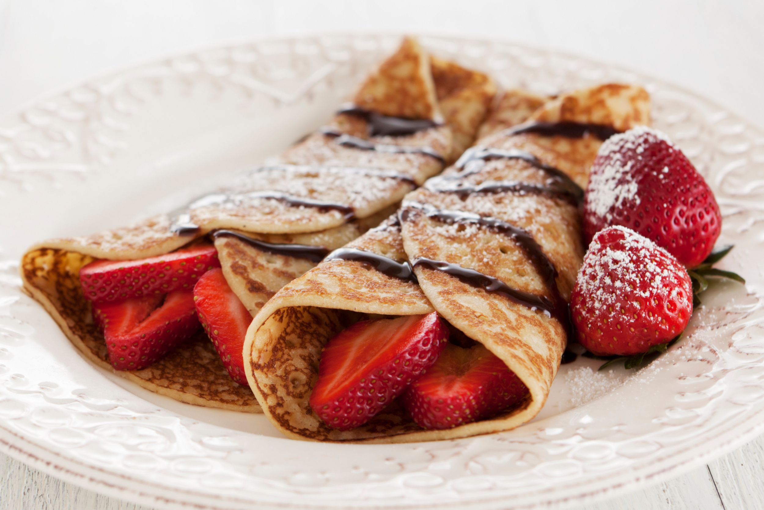 Basic Crepe Recipe (Sweet or Savory)
