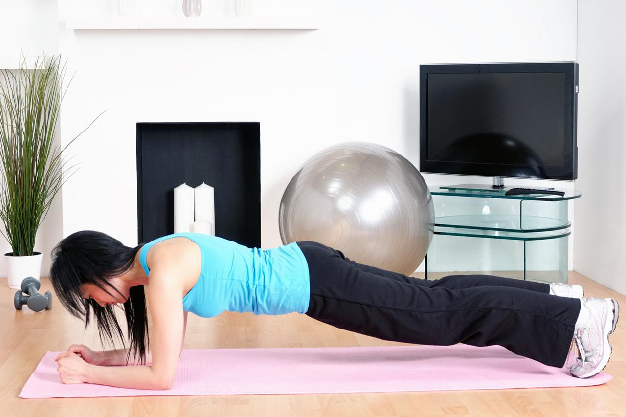 Strengthen Your Core With Pilates Plank Variations