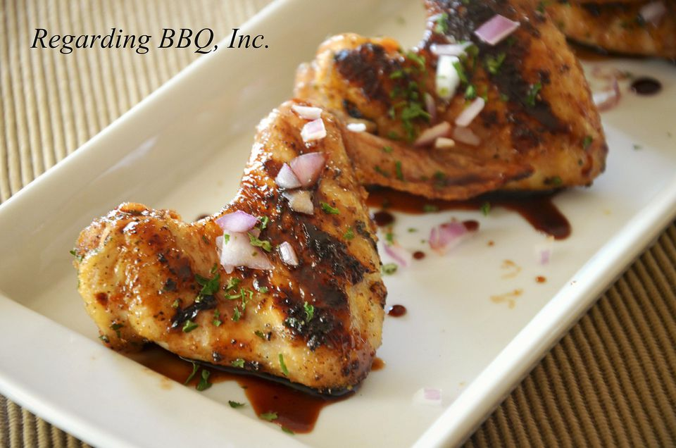 Apricot-Balsamic Chicken Wings