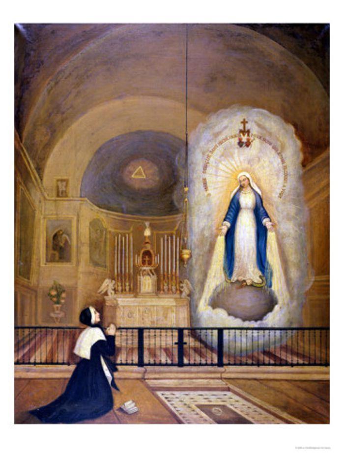 Aparición de la Virgen a Santa Catarina Laboure