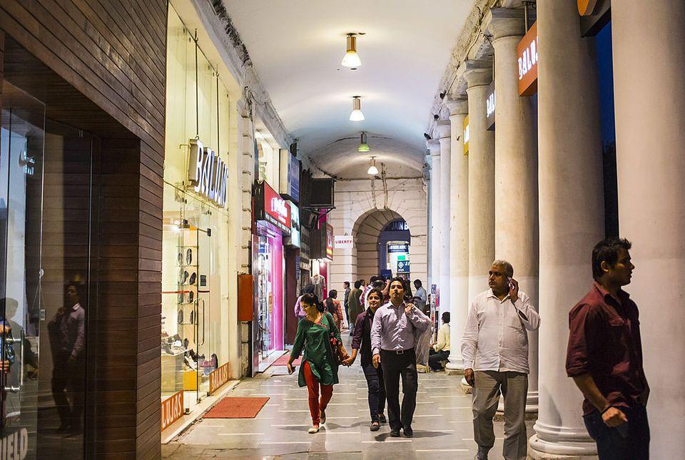 Connaught Place, Delhi.