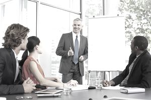 In a learning organization, coworkers train each other and share information from conferences, field trips, and customer visits.