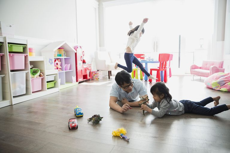 How to set up a toy rotation in your child's playroom