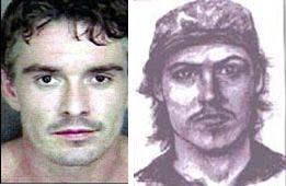 Jones & Composite Sketch of Suspect in Endres case.