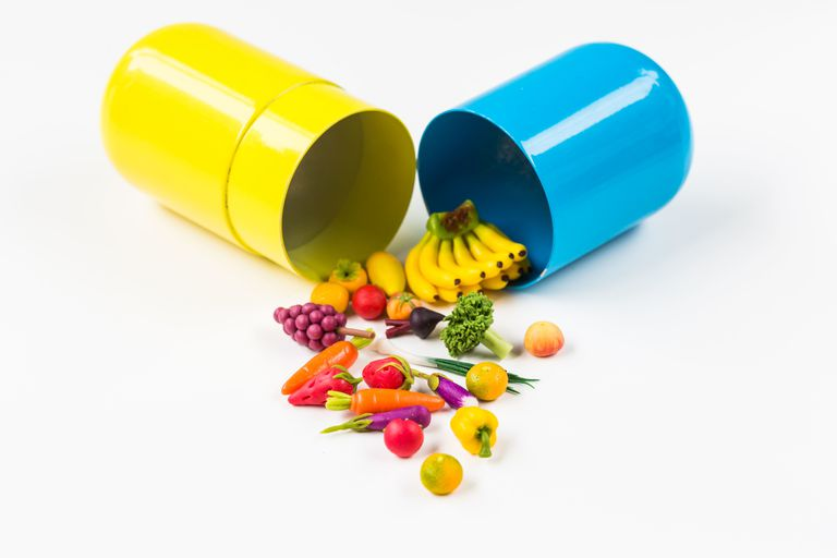 Conceptual image of nutraceuticals.
