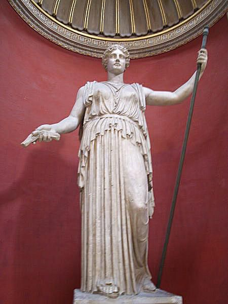 Colossal Statue of Ceres (Demeter) at the Vatican