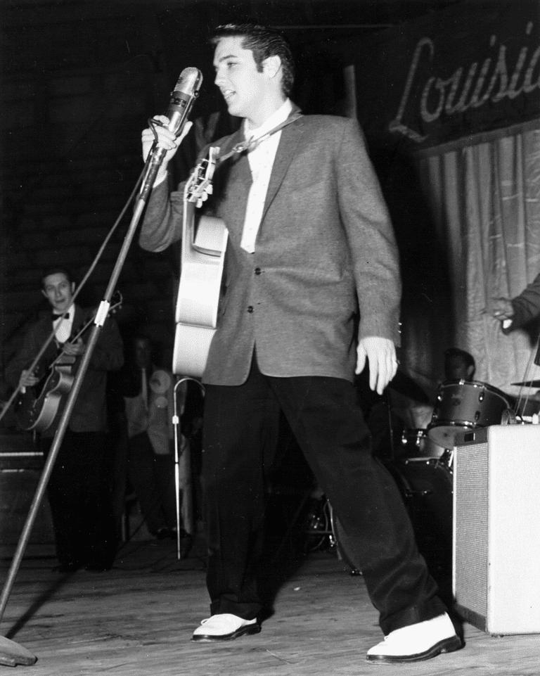 Elvis in 1954
