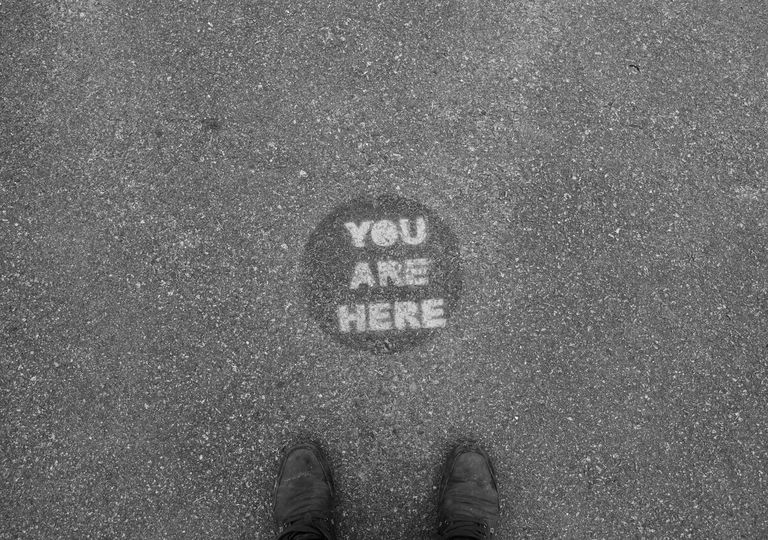 You Are Here Marker