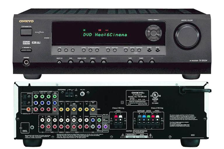 Onkyo TX-SR304 5.1 Channel Home Theater Receiver