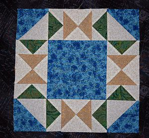 Flying in Circles Quilt Block Pattern
