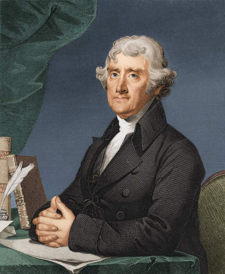 Thomas Jefferson, America's first Secretary of State