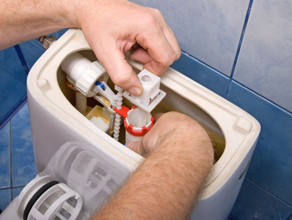 Toilet valve repair