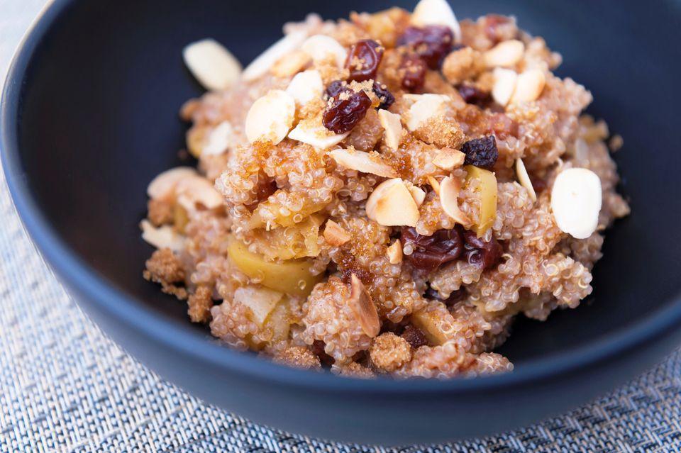 Maple Cinnamon Quinoa Bowl