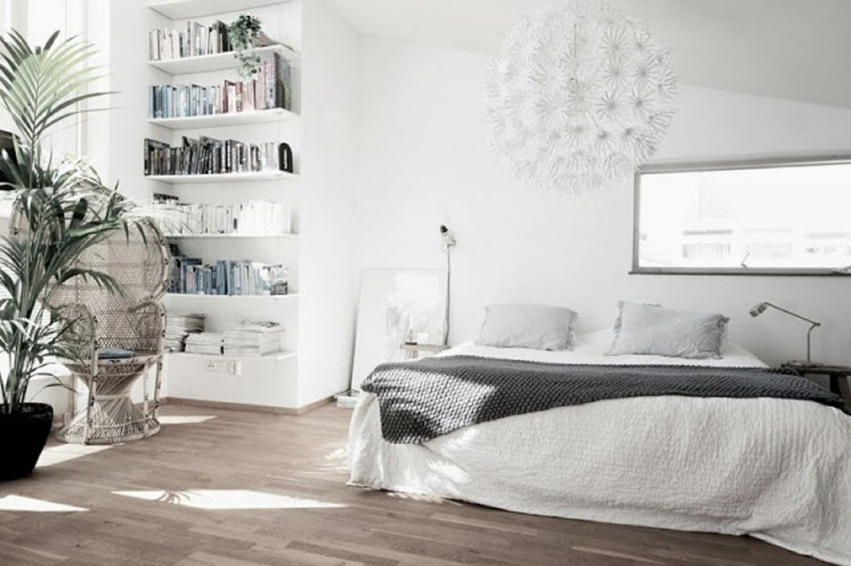 scandinavian bedroom. Airy Scandinavian Bedroom 25 Design Ideas