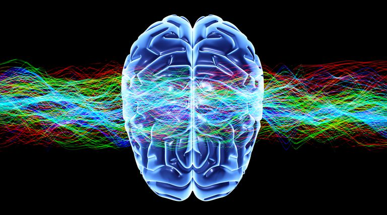 In synesthesia, stimulation of one cognitive pathway causes a response in another pathway. For example, seeing a color might be associated with a flavor.