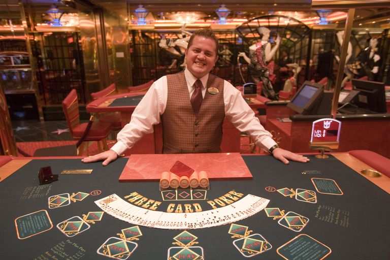 Happy Pokerface at Casino Royale on Deck 4