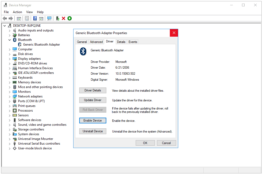 How Do I Enable A Device In Device Manager In Windows