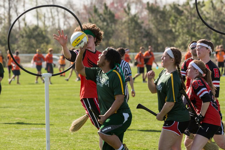 Unusual sports for kids: Quidditch