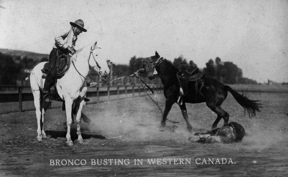 Bronco Bustin' Western Canada