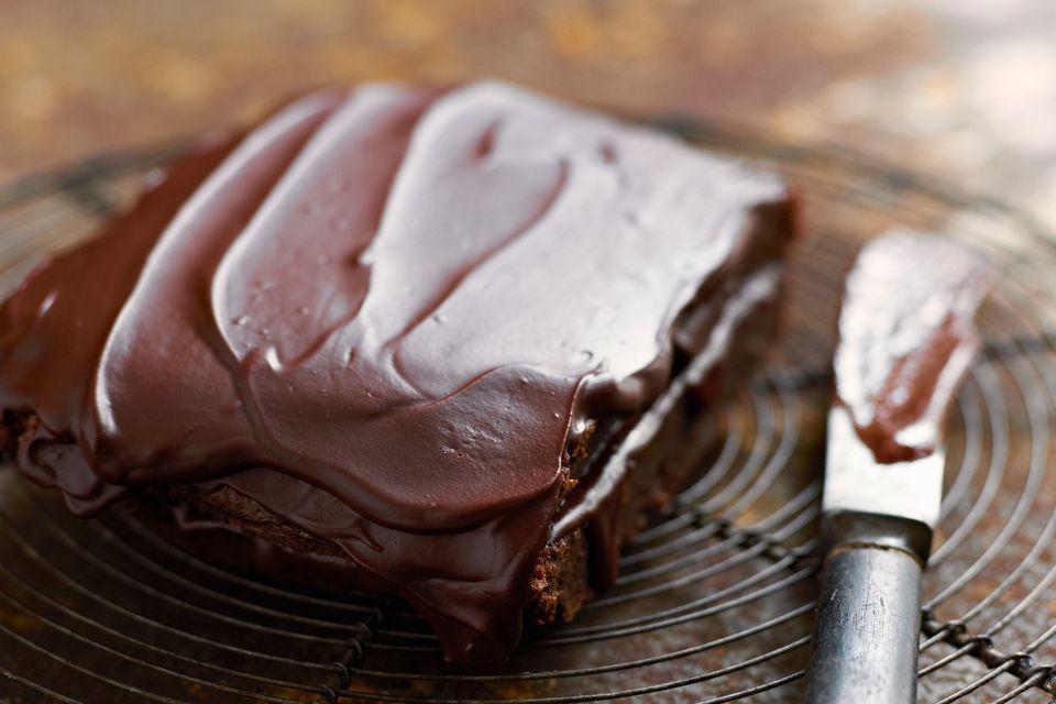 Scotch Chocolate Sheet Cake