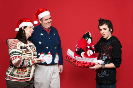 Is It Better To Give Or Receive An Ugly Christmas Sweater?