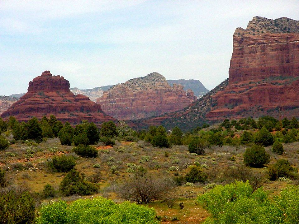 Sedona Arizona Vortexes Origin Theories