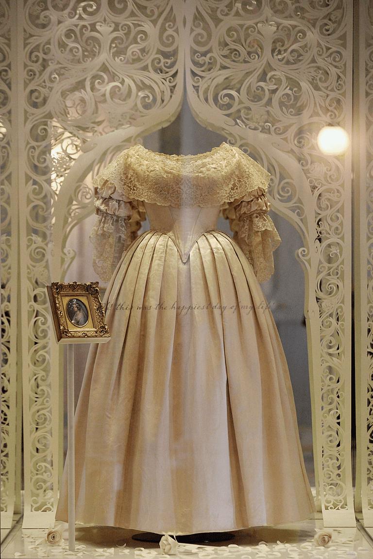 Queen Victorias Wedding Dress