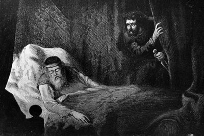 an analysis of the reasons for the downfall and murder in macbeth by shakespeare Macbeth - disastrous attributes the macbeth of shakespeare was a military man finally, in the scene following banquo^s brutal murder macbeth is haunted by a bloody ghost.