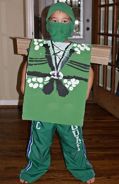 Pictures of Cardboard Box Costumes