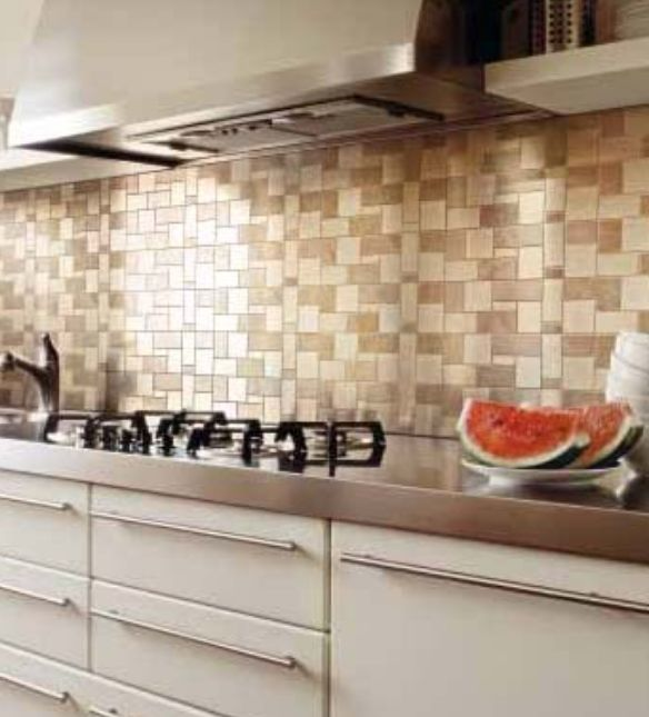 small tile backsplash in kitchen ideas for remodeling your small kitchen 25905
