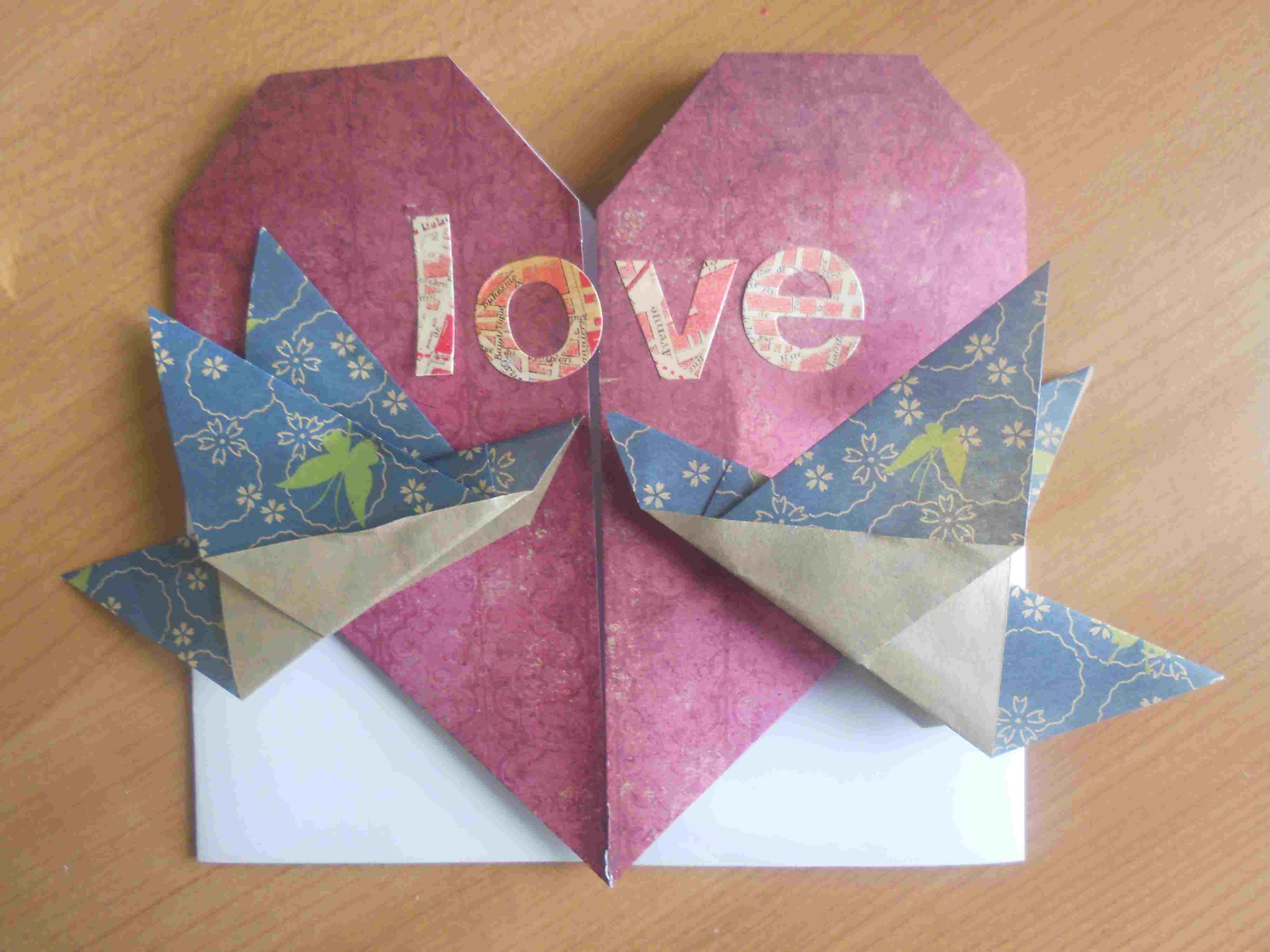 Ten ideas for origami greeting cards kristyandbryce Images